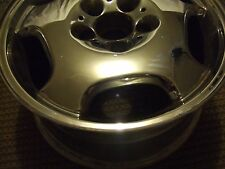 """benz E420 chrome wheel 16"""" used in very good shape"""