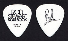 Rod Stewart Signature White Guitar Pick - 2010 Soulbook Tour