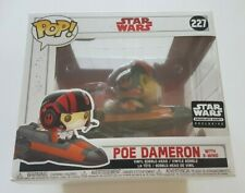Funko Pop Star Wars 227 Poe Dameron with X-Wing Smugglers Bounty Exclusive