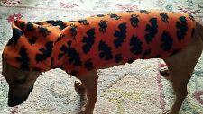 DOG FLEECE JACKET BATS & SPIDERS SIZE S. FANCY DRESS   FREE UK P&P