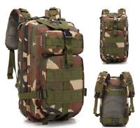 3P military tactical backpack Oxford sports bag 30L camping trip hiking hiking