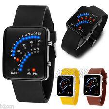 Fashion Men Women Bracelet Watch Silicone Band LED Digital Sport Wrist Watches