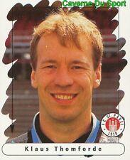 159 KLAUS THOMFORDE GERMANY FC ST. PAULI STICKER FUSSBALL 1996 PANINI
