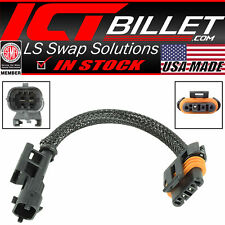 "LS 6"" Alternator Adapter Harness - 2 Pin High Amp Vehicle  to 4 Pin Alternator"