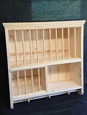 The Adlington ***Hand Crafted in Pine***  Dinner Service Crockery Plate Rack