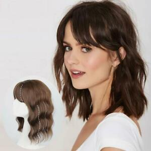 Hair Topper Hairpiece with Bangs for Women Clip in Hair Topper for Thinning Hair