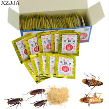 XZJJA 20 Packs Effective Killing Cockroach Bait Powder Cockroach Repeller Insect
