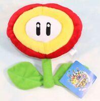 "Super Mario Bros Fire Flower Plush Stuffed Animal Toy 7"" US Seller"