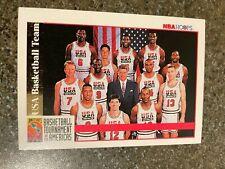USA Dream Team 1992-93 NBA Hoops #USBT RARE Michael Jordan Bird Magic Pippen