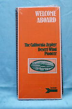California Zephyr - Desert Wind - The Pioneer - Welcome Aboard - Route Guide