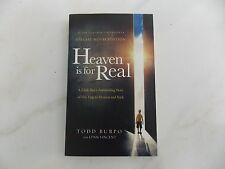 Heaven Is for Real A Little Boy's Astounding Story by Todd Burpo - Movie Tie-In