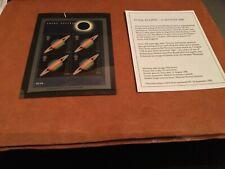 Great Britain Scott #1870a souvenir sheet Eclipse Hubble Telescope