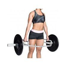 "Weight Lift Trap 2"" Bar Hex Dumbbell Deadlift Shrug Gym Squat Train Muscle Steel"