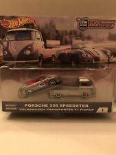 Hot Wheels Porsche 356 Speedster Team Transport