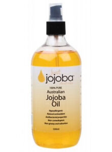 JUST JOJOBA 100% Pure Australian Jojoba Oil 500ml | Bulk | Plastic Bottle