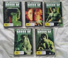 The Incredible Hulk Complete Series Seasons 1 2 3 4 5 DVD Region 1