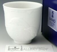 Lladro COLLECTORS SOCIETY 1998 DOLPHINS AT PLAY #17658 CUP CANDLE HOLDER Box