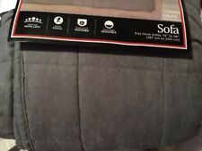Sure Fit Pet Furniture Cover For Sofa Fits Most Sofas 74 x 96� New Gray