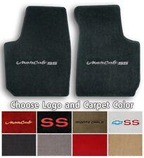 Chevrolet Monte Carlo 2pc Classic Loop Carpet Floor Mats - Choose Color & Logo