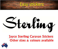 580mm Jayco Stirling Caravans Retro Sticker Graphic Replacement Repair Decal New