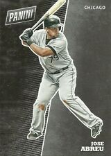 2017 PANINI NATIONAL BB21 JOSE ABREU WHITE SOX FREE SHIPPING