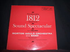 LM-2345 Morton Gould Orch and Band Tchaikovsky/Ravel/Bolero 1812 Overture 1959