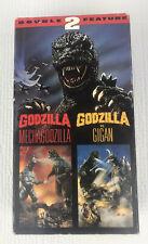 Godzilla Vs. Mechagodzilla & Godzilla Vs. Gigan VHS Double Feature