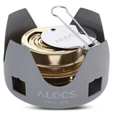 Alocs Portable Mini Spirit Burner Alcohol Stove Outdoor Camping Hiking Stove US