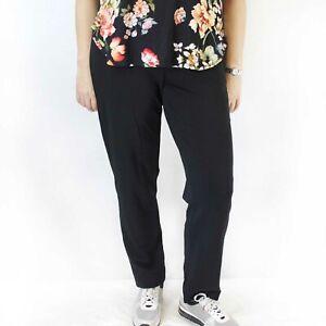J. Jill Plus Size Black Stretch Waist Pants 2X