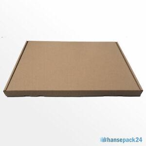 50 Grossbrief 230 x 160 x 20 mm Kartons Verpackung Maxibrief Schachteln DIN A5