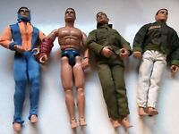 Vintage Action Man Soldiers x 4