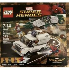 NEW Sealed LEGO 76083 MARVEL SUPER HEROES Beware the Vulture 375 Pcs 4 Minifigs