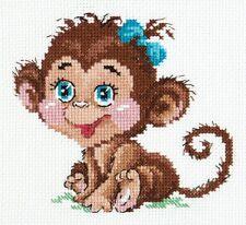 Cross Stitch Kit Charming monkey art. 19-01
