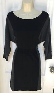 Ann Taylor Loft Size Medium Woman's Merino Wool Dolman Knit Casual Career Dress