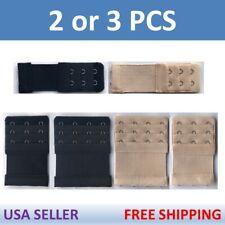 2/3/4 Hook Ladies ELASTIC Bra Extender Strap Extension Underwear Strap Belt