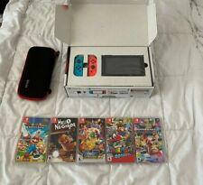 Nintendo Switch Console Bundle + 5 Games