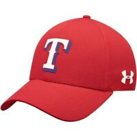 Texas Rangers Under Armour MLB Driver Cap 2.0 Adjustable Hat - Red