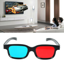 Red Blue 3D Glasses For Dimensional Anaglyph Movie Game DVD Fashional