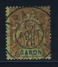 Timbres du Gabon, sur communication