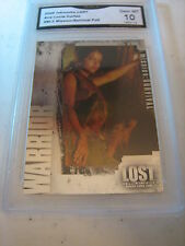 ANA LUCIA CORTEZ 2006 INKWORKS LOST MISSION:SURVIVAL FOIL BL-2 GRADED 10