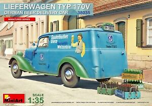 Miniart 38035 - 1/35 Mercedes-Benz delivery truck 170V (German beer delivery)