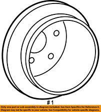 FORD OEM Rear Brake-Rotor 6L2Z2C026B