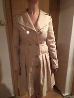Snow Feather Regenmantel Trenchcoat, Gr. S/36-38, beige, wasserabweisend, TOP!