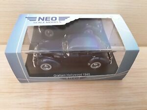 NEO 1/43 Graham Hollywood 1940 Neo scale models