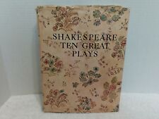 Shakespeare Ten Great Plays Deluxe Edition Golden Press DJ