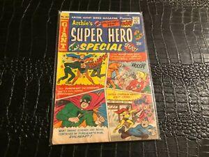 1966 Archie Giant #142 VG-  Super Hero Special – Origin issue - comic book