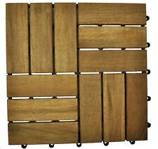 10x Decking Timber Tiles for Garden Patio Alfresco Pergola Areas (RRP $79)