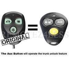 4 Avital Car Alarm Window Sticker Decal  Original