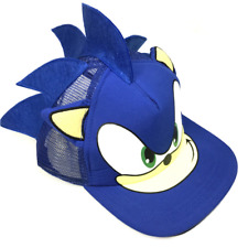 Sonic The Hedgehog - Baseball Hat - Adjustable - Blue - Cosplay Costume Gift