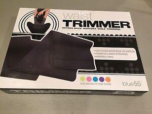 blue 5.5 Waist Trimmer in Black New!